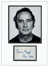 Ronnie Biggs Autograph Display - The Great Train Robbery